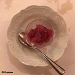 シェムラブルリス - 葡萄のグラニテ