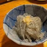 天史朗寿司 - 料理写真:お通し 生シラス サッパリと生酢で
