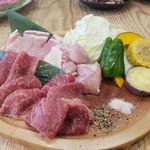 かんてき 西村家 - 料理写真:炭火かんてきプレート(ランチ)