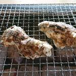 牡蛎処 桝政 - 焼き牡蠣