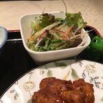 楽楽 - サラダは生野菜