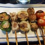 とり平 - 野菜巻き(ミンチ)