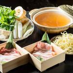 ondo - 冬季限定!あぐー豚の沖縄だししゃぶ鍋