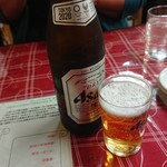 龍 - 瓶ビール(アサヒスーパードライ)