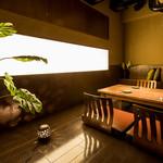 ondo - 4~5名様用の個室のお座敷席(少し狭くなりますが6名様でもご利用頂けます。)