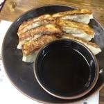 ラーメン金太郎 - 餃子6個入り(300円)