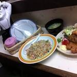 大連ラーメン - きたなトラン出演記念セット(肉のてんぷら・炒飯)