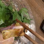 トリットリアバンブー - もものたたき、柚子胡椒で