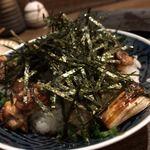 トリットリアバンブー - 料理写真:焼鳥丼