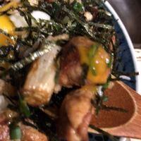 トリットリアバンブー-鶏丼に、ネギいり。