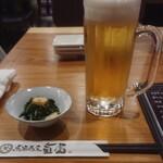 馬酒喝采 Umaya - お通し  440円