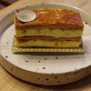 パティスリートレカルム - 料理写真:ミルフォイユ