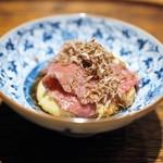 肉割烹 上 - 三田牛リブロースのすき焼き 白トリュフ