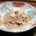 肉割烹 上 - 山椒麺