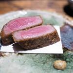 肉割烹 上 - シャトーブリアンのカツレツ