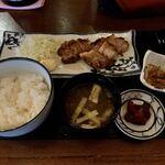 120954772 - 「豚バラ肉の仙台味噌漬け焼き定食」