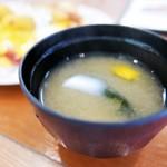 グリル中村屋 - お味噌汁