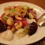 桂花苑 - 「宮城や東北の野菜」海の幸とカシューナッツ入りあっさり炒め