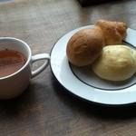 やぎばる Clover - パン食べ放題とスープ