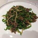 Shisenhanten - 青椒肉絲