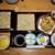 ⽥町 そばまえ by moto - 料理写真:かき揚げせいろ、小皿、ゆかりご飯、蕎麦ゼリーのデザート付1000円
