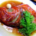 笑の家 - 稲取名物金目鯛の煮付け