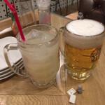 PIGO - グレープフルーツジュースとオビール