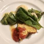 ピッツェリア・ギタロー - ランチの前菜4種盛り合わせ
