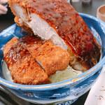 120977547 - ソースロースかつ丼(1650円)