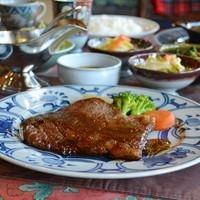 民家レストラン伊萬里亭 - 一番人気の伊万里牛ステーキ定食3300円