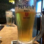 魚魯魚魯 - 飲みかけのビール