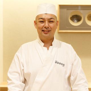 難波英史氏(ナンバヒデフミ)─圧倒的技術と情熱が凝縮された鮨