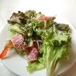 イル メルカンテ - セットのサラダ