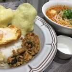 マンゴツリーキッチン - ガパオ&センレックトムヤム ¥1,100