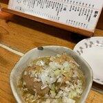 120993482 - 煮込み豆腐と煮玉子
