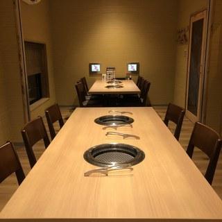 10~18名様でもバリアフリーなテーブル個室をご利用頂けます。