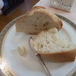 レストラン テルミニ - パン、バター