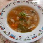 レストラン テルミニ - 野菜のスープ