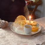 レストラン テルミニ - デザート誕生日仕様