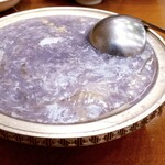 ぎをん森幸 - 里芋のフカヒレスープ