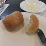 れすとらんひろ - 自家製パン(食べかけでスミマセン)