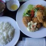 海岸亭 - カキフライ定食