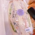 121010433 - ゴボウサラダと根菜サラダのサンドイッチ