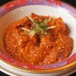 ロティボティ - 料理写真:南インドの海老カレー 1,570 円