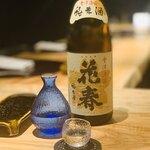 北新地 天婦羅 ぼん次 - ポン酒2