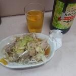 121020513 - ビール&蒸し鶏