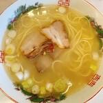 天水 - ラーメン ¥350