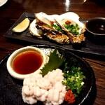 さかい - 牡蛎と白子のポン酢