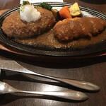 ハンバーグオニオン - 料理写真: