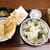 戸隠そば - 料理写真:天丼+磯おろしセット+小海老天